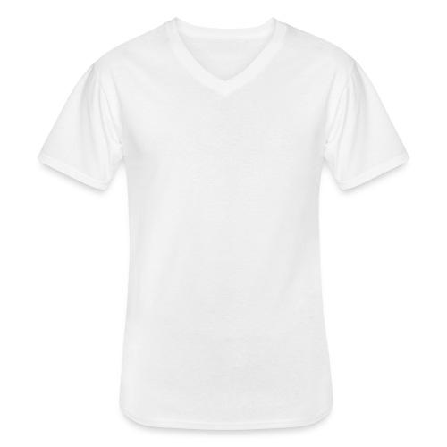 logo_alumadein_vecto_blan - T-shirt classique col V Homme