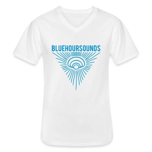New Blue Hour Sounds logo triangle - Men's V-Neck T-Shirt