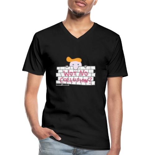 Trump's Wall - Men's V-Neck T-Shirt
