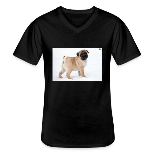 walker family pug merch - Men's V-Neck T-Shirt