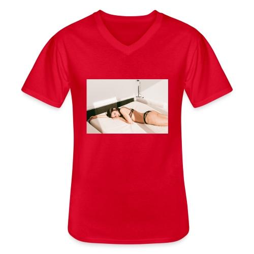 Diamela #1 - Maglietta da uomo classica con scollo a V