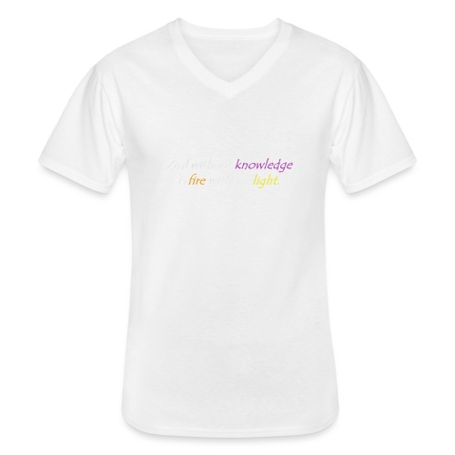 Say with colors - Men's V-Neck T-Shirt