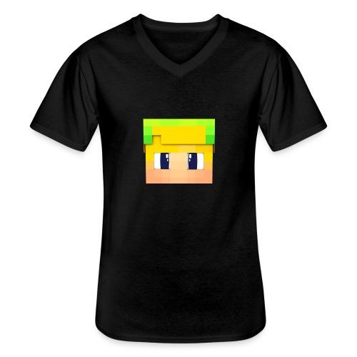 Yoshi Games Shirt - Klassiek mannen T-shirt met V-hals
