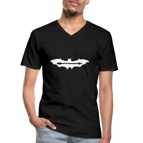 AjuxxTRANSPAkyropteriyaBlackSeriesslHotDesigns.fw - Men's V-Neck T-Shirt