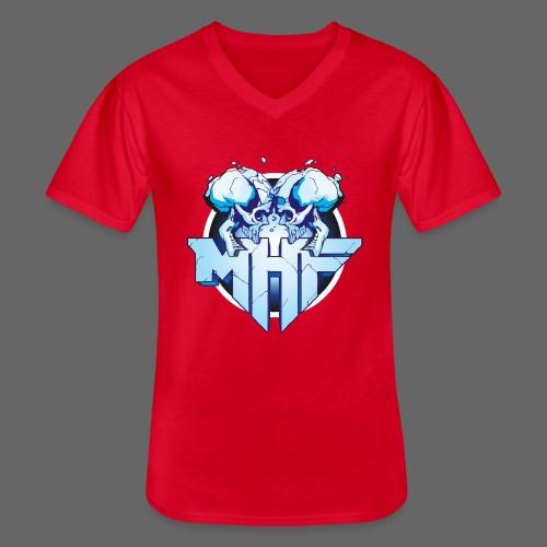 MHF New Logo - Men's V-Neck T-Shirt