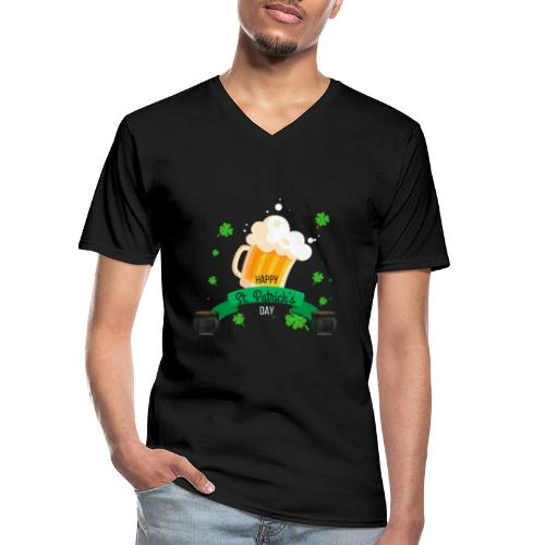 Happy St Patrick's tee shirt - T-shirt classique col V Homme