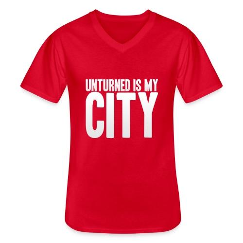 Unturned is my city - Men's V-Neck T-Shirt