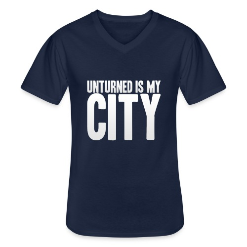 Unturned is my city - Men's V-Neck T-Shirt