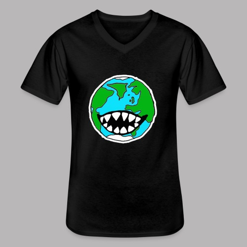 Hungry Planet - Men's V-Neck T-Shirt