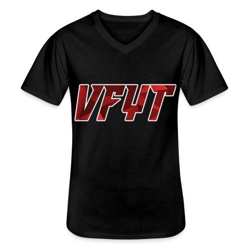 vfyt shirt - Klassiek mannen T-shirt met V-hals