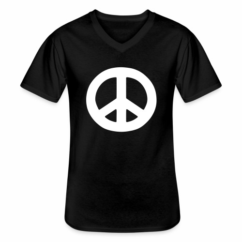 Peace - Men's V-Neck T-Shirt