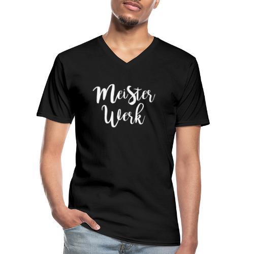 Meisterwerk II - Klassisches Männer-T-Shirt mit V-Ausschnitt