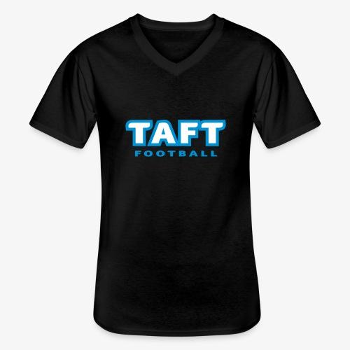 4769739 124019410 TAFT Football orig - Klassinen miesten t-paita v-pääntiellä