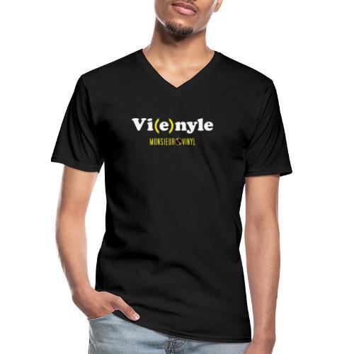 Collection Vi(e)nyle - T-shirt classique col V Homme