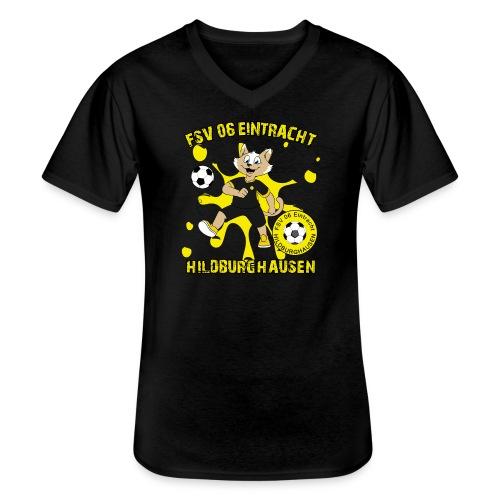 Hildburghausen ESKater - Klassisches Männer-T-Shirt mit V-Ausschnitt