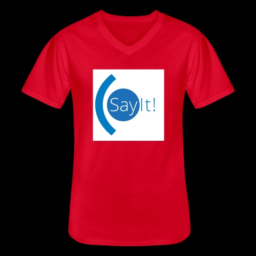 Sayit! - Men's V-Neck T-Shirt