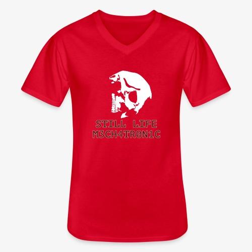 Still Life - Klassisk T-shirt med V-ringning herr