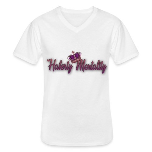 Haberty Mentality - T-shirt classique col V Homme