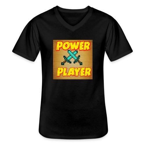 NUOVA LINEA POWER PLAYER - Maglietta da uomo classica con scollo a V