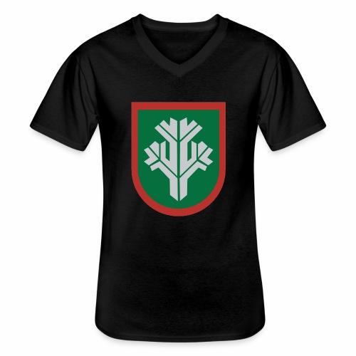 sissi - Klassinen miesten t-paita v-pääntiellä