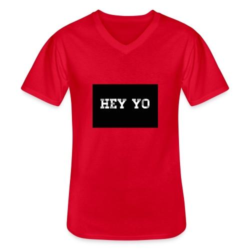 Hey yo - T-shirt classique col V Homme