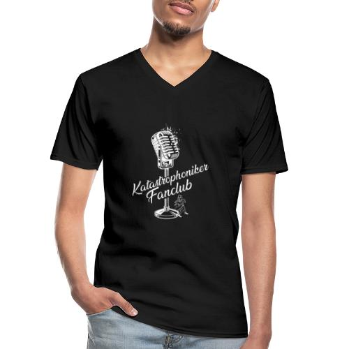 Katastrophoniker Fanclub - Klassisches Männer-T-Shirt mit V-Ausschnitt