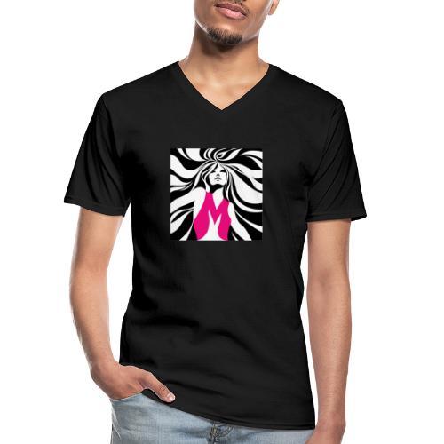 Mélographie - T-shirt classique col V Homme