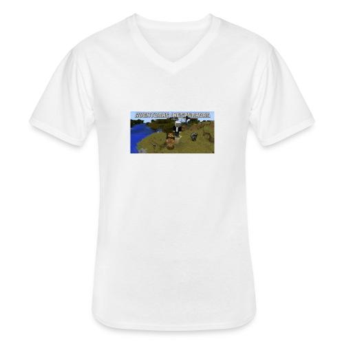 minecraft - Men's V-Neck T-Shirt