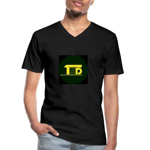 tricks and skills denmark - Klassisk herre T-shirt med V-udskæring
