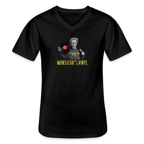 Collection Photo - T-shirt classique col V Homme
