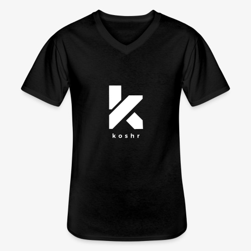 Koshr Official Logo - - Men's V-Neck T-Shirt