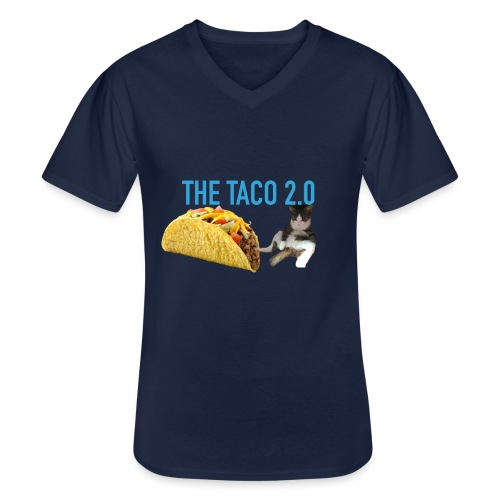 IMG 2232 - Klassisk T-shirt med V-ringning herr