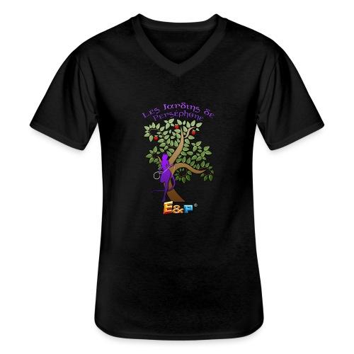 demone ecusson - T-shirt classique col V Homme