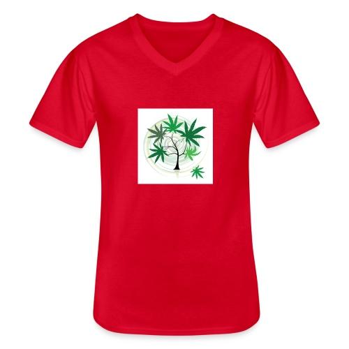 the bouture - T-shirt classique col V Homme