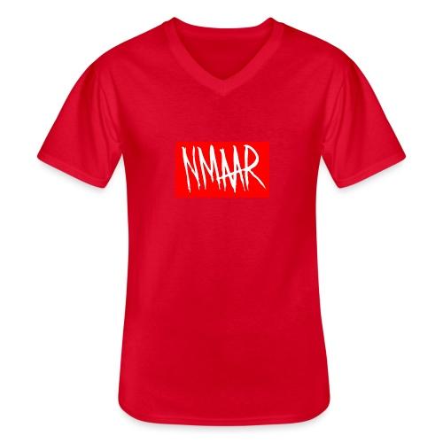 Logo Shirt - Klassisk herre T-shirt med V-udskæring