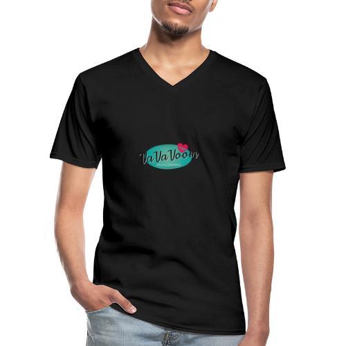 vavavoom logo 330v760 - Klassisk herre T-shirt med V-udskæring