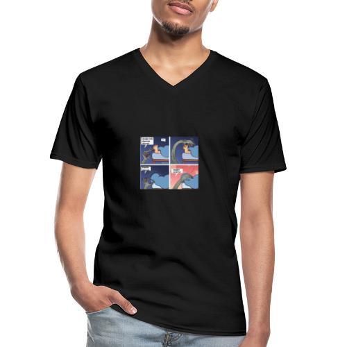 Türk - Klassisches Männer-T-Shirt mit V-Ausschnitt