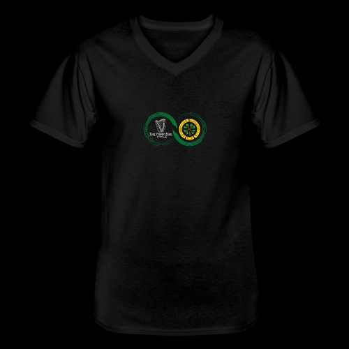 Harp and French CSC logo - T-shirt classique col V Homme