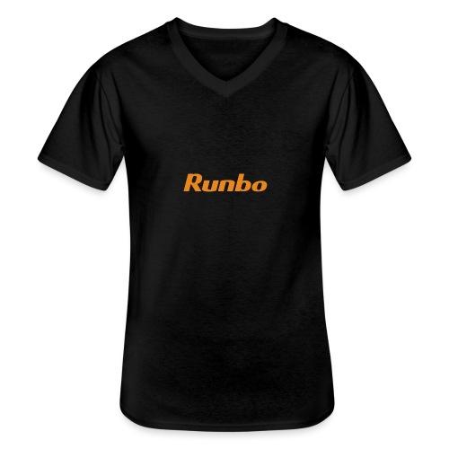 Runbo brand design - Men's V-Neck T-Shirt
