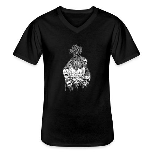 shrunkenheads - Klassisches Männer-T-Shirt mit V-Ausschnitt