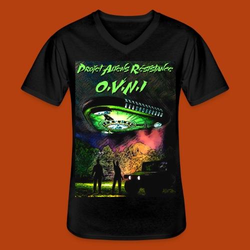 T Shirt ovni green 01 - T-shirt classique col V Homme