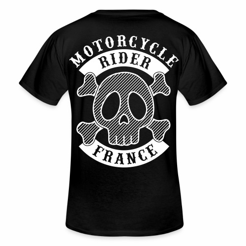 Motorcycle Rider France - T-shirt classique col V Homme