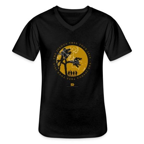 JT2019: Tour with city list - Men's V-Neck T-Shirt