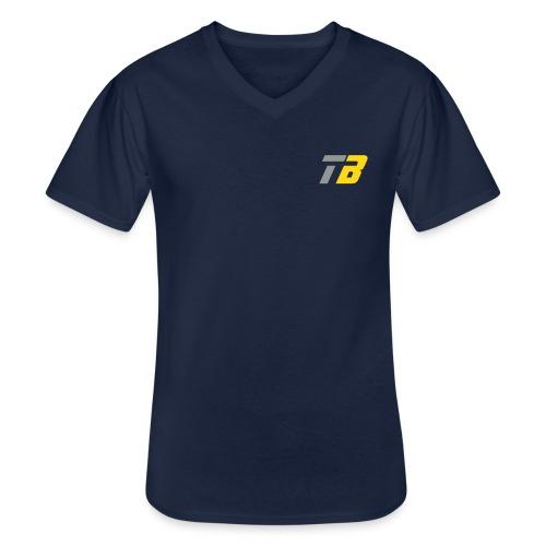 Logo Team Benninghofen - Klassisches Männer-T-Shirt mit V-Ausschnitt