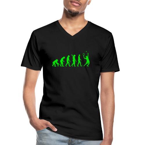 ATSV Evolution - Klassisches Männer-T-Shirt mit V-Ausschnitt
