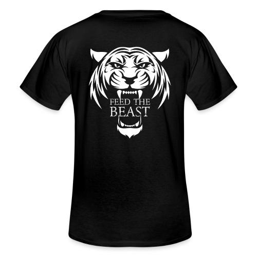 STRONGER - Feed The Beast - Klassiek mannen T-shirt met V-hals