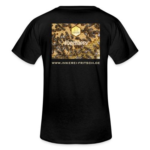 beehappy ikf www - Klassisches Männer-T-Shirt mit V-Ausschnitt