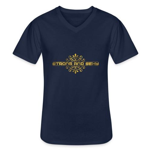 S.A.S. Women shirt - Klassiek mannen T-shirt met V-hals
