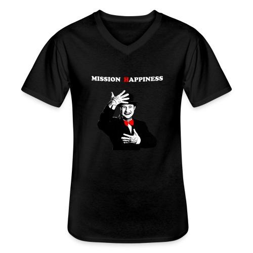 Ti Apro La Porta - Men's V-Neck T-Shirt