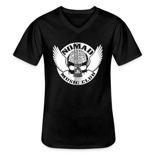Nomads Double Print - Men's V-Neck T-Shirt